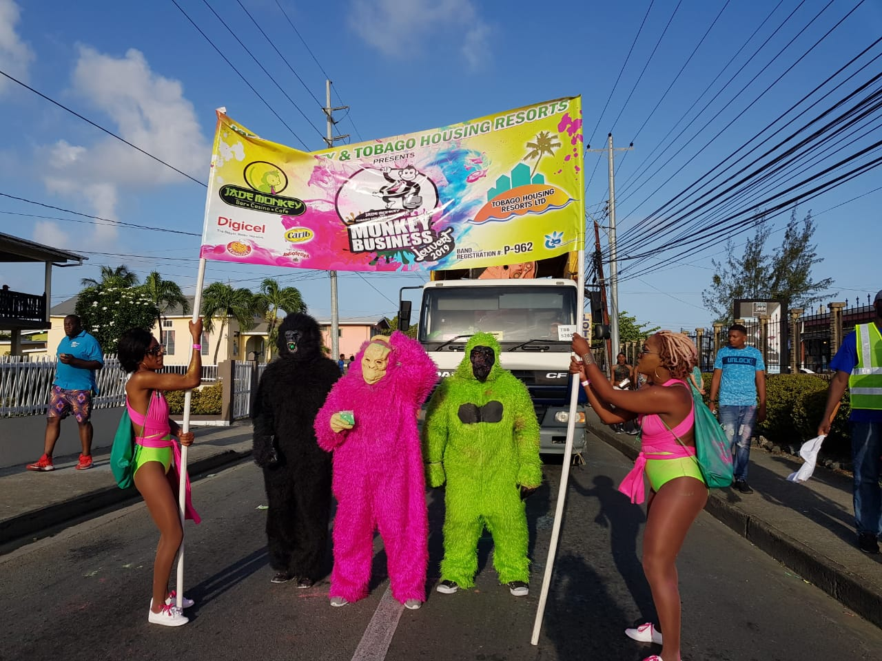 'Monkey Business' Jouvert 2019